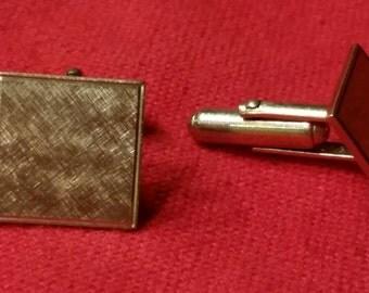 Vintage gold tone cufflinks