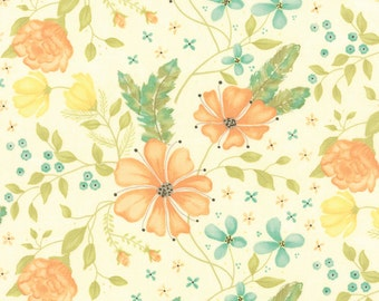 Cream Main Refresh Fabric - Sandy Gervais - Moda - 17860 16