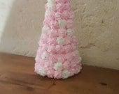 Icing Sugar Felt Christmas Tree Pink Christmas Christmas Kitchen Decor Shabby Chic Made to Order