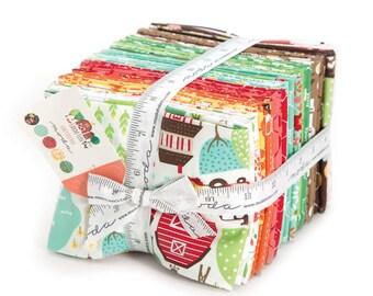 FALL SALE - In Stock - Fat Quarter Bundle (32) - Farm Fun - Stacy Iset Hsu - Moda Fabrics