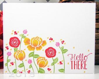 Hello There Handmade Card