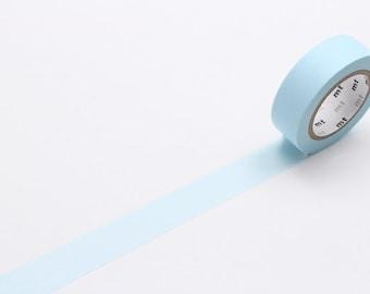 pastel powder blue - mt basic colour - washi tape