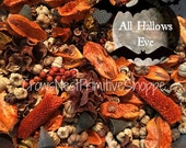 BULK All Hallows Eve Potpourri with Pumpkin Pods, Orange and Brown Pods and Spices scented Citrus Spice and Pumpkin Mix