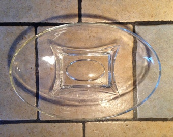 Clear Capris Glass Bowl by Hazel Atlas