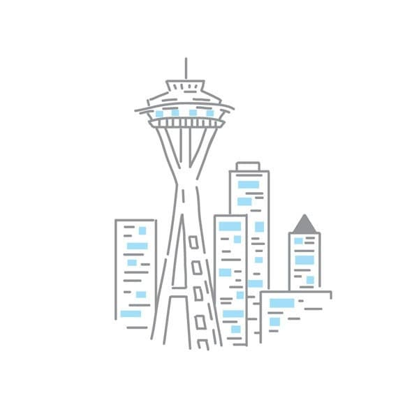 Seattle 39 s space needle pdf embroidery pattern by studiomme for Space embroidery patterns