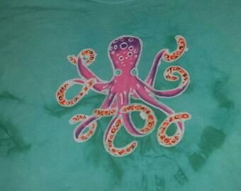 Octopus Batik Tenticles CUSTOM MADE to Order Ocean Life