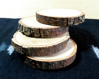 Rustic All Natural Tree Wood Coasters