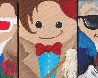 Itty Bitty FIVE Doctors!