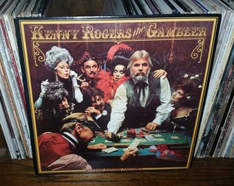 Kenny Rogers the Gambler Vintage Vinyl Record