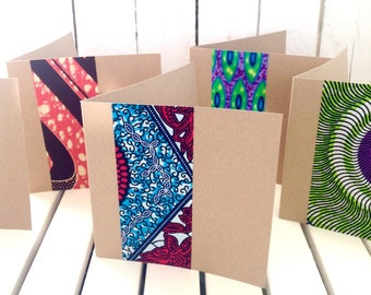 50 African wedding invitations, card set with envelopes