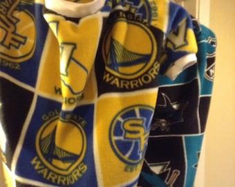 Golden State Warriors or San Jose Sharks Sm, Med, Lg or XL Dog Sweater