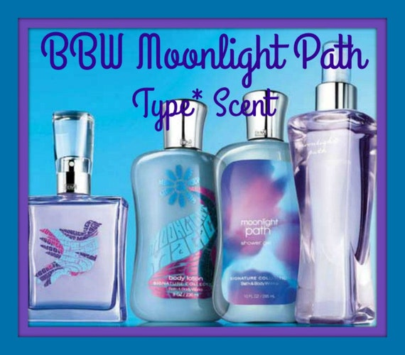 MOONLiGHT PATH BBW Type* Scented Soy Wax Melts Tarts - Floral - Violets - Musk - Lavender - Highly Scented - Hand Poured & Handmade In USA