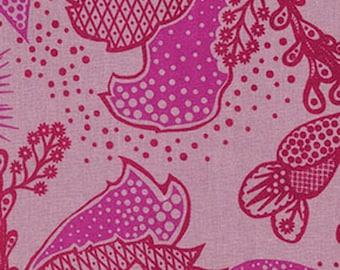 Filigree fabric, Anna Maria Horner, True Colors yardage, cherry color, wine purple, Free Spirit Fabric, designer fabric, choose cut, supply