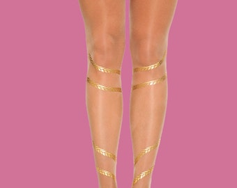 Holiday gift Christmas gift Braids tights, available in S-M, L-XL