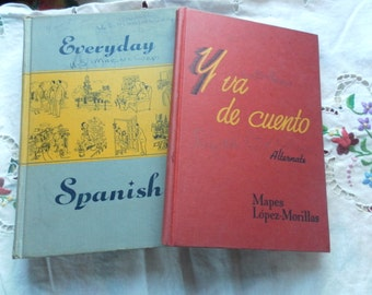 Learn Spanish! Two Vintage Spanish Books