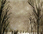 The Gathering - Limited Edition Giclee  #7/250