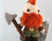 Dwarf, Halfling and Elf - Fantasy Amigurumi Patterns PDF