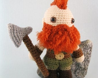 Dwarf, Halfling and Elf - Fantasy Amigurumi Patterns PDF - Crochet Patterns