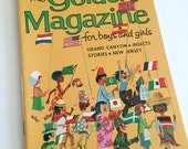 SALE LABOR DAY - 15% Off Vintage Golden Magazine Back Issue August 1967 Boys Girls Children's Lit Vintage Advertising Ads