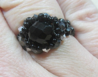 Halo Ring KIT (Black) Jewelry Making