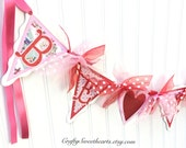 Valentine BE MINE Banner Garland Party Decoration Home Decor Pennant Banner