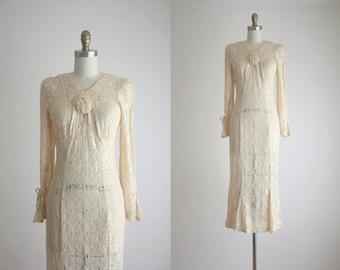 1970s lace dress