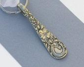 Spoon Handle Key Chain, Spoon Keychain, Spoon Key Ring, Good Luck, Horse Shoe, Wishbone, Four Leaf Clover