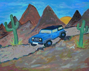 Jeep Art Etsy