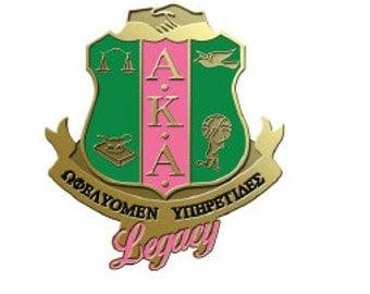 AKA Legacy Shield Lapel Pin