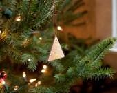 Minimalist Christmas Tree Ornaments