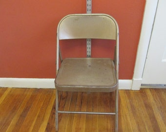 Metal Folding Chair Child Size Time Out Place