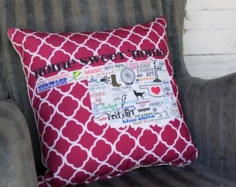 Oklahoma Statehood Indoor/Outdoor Pillow