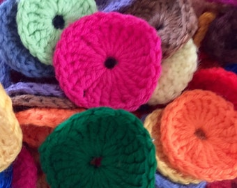 Crochet Circles Crafting Pieces