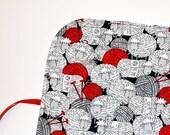 Crochet Hook Organizer  DPN Storage Case Well Dressed Wool gift for knitter woolly sheep