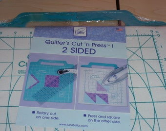June Tailor Quilter's Cut'n Press 2 Sided Pad  Brand New