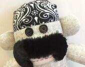 Freddie the Biker Sock Monkey