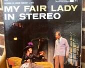 70% OFF CLEARANCE 1959 // Vinyl Record // My Fair Lady - Musical // OS 2015
