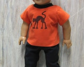 Halloween Tee and Pants for 18 inch Boy Doll