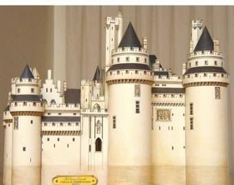 French Book of Castle Paper Models