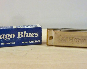 Kay Chicago Blues Harmonica Model KHCB-G / Music