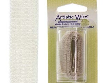 Artistic Wire Mesh 18mm Silver 1 Meter
