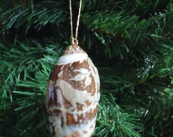 Medium Shell Christmas Tree Ornament