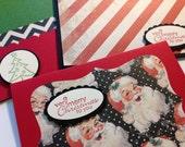 Christmas cards, Holiday card set, Set of holiday cards, Christmas Greeting cards - set of 12