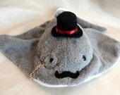 Black Tie Stingray Plush Toy