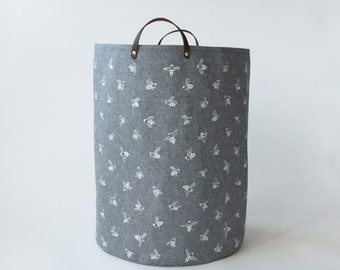 SALE - 20% OFF - Hamper - Chambray Bees