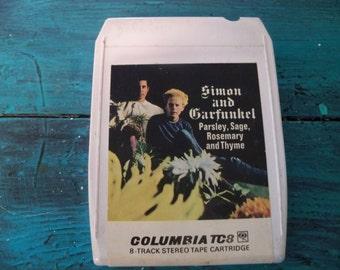 Simon and Garfunkel  8 track  stereo tape cartridge