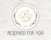 Reserved for Southern Vint. Blle - completely custom design. Choose your paper.