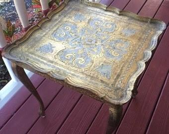 Italian florentia gilt wood table