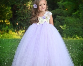 Fields of Lavender Tutu Dress