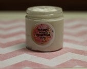 SHAVED ICE Body FROSTING - Vegan - Whipped Lotion - 4 oz. - Blend of Strawberries and Black Cherry Scented- Pure Shea & Coconut Oil